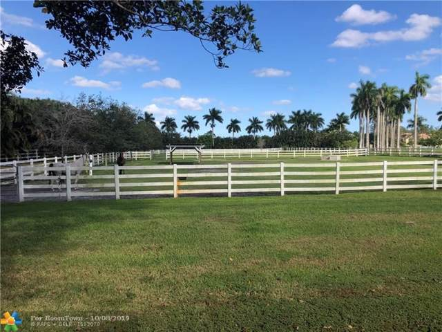 5401 Holatee Trl, Southwest Ranches, FL 33330 (MLS #F10196296) :: Green Realty Properties