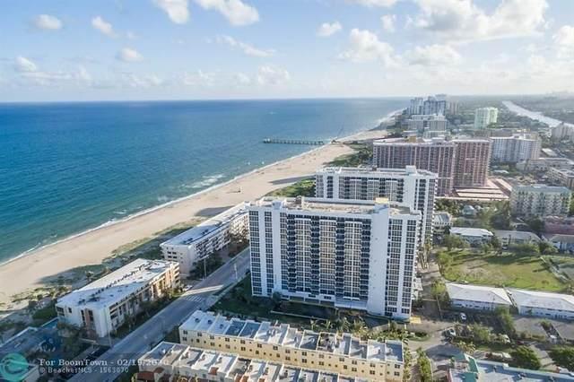 531 N Ocean Blvd #804, Pompano Beach, FL 33062 (MLS #F10196529) :: Castelli Real Estate Services