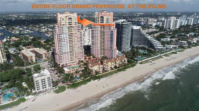 2110 N Ocean Blvd Penthouse Aka 2, Fort Lauderdale, FL 33305 (#F10202645) :: Baron Real Estate