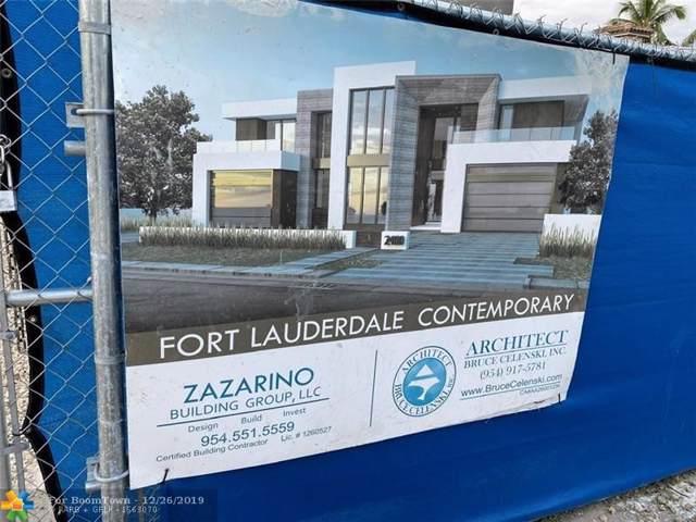 2400 Castilla Isle, Fort Lauderdale, FL 33301 (MLS #F10204025) :: Green Realty Properties