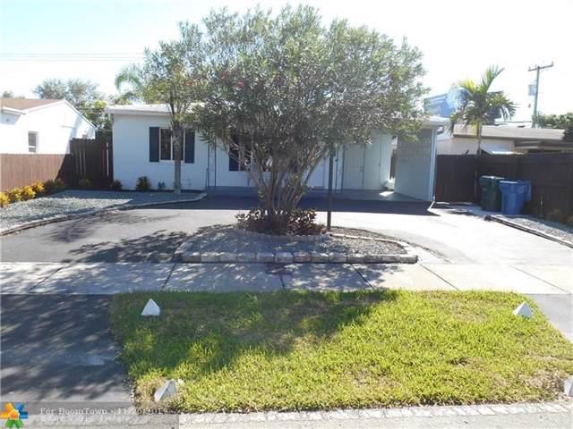 440 NE 51st St, Oakland Park, FL 33334 (MLS #F10204366) :: Berkshire Hathaway HomeServices EWM Realty