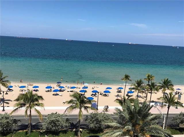 505 N Fort Lauderdale Beach Blvd #807, Fort Lauderdale, FL 33304 (#F10205545) :: The Rizzuto Woodman Team