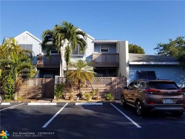 203 E Hemingway Circle #25, Margate, FL 33063 (MLS #F10205659) :: Berkshire Hathaway HomeServices EWM Realty