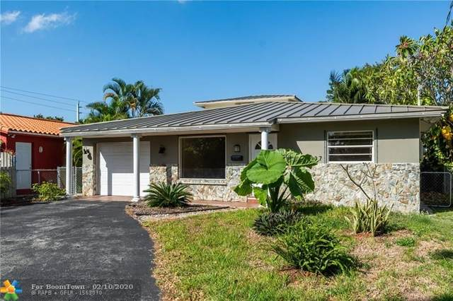 1337 NE 35th St, Oakland Park, FL 33334 (MLS #F10207422) :: Green Realty Properties