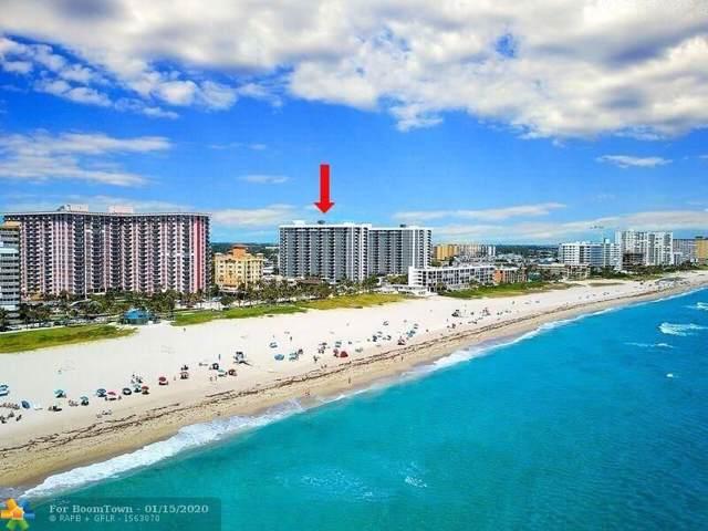525 N Ocean Blvd #416, Pompano Beach, FL 33062 (MLS #F10207466) :: Castelli Real Estate Services