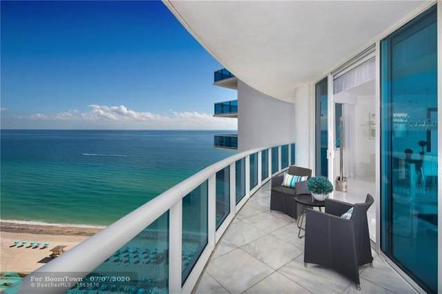 2711 S Ocean Dr #2101, Hollywood, FL 33019 (MLS #F10211763) :: Green Realty Properties