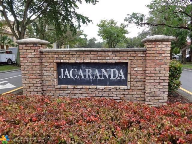 13 Jacaranda Country Club Dr #115, Plantation, FL 33324 (MLS #F10212114) :: Green Realty Properties