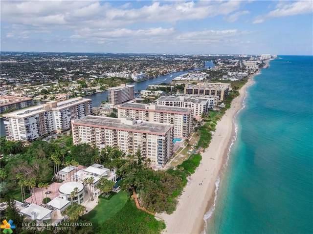 1147 Hillsboro Mile #409, Hillsboro Beach, FL 33062 (MLS #F10212382) :: Green Realty Properties
