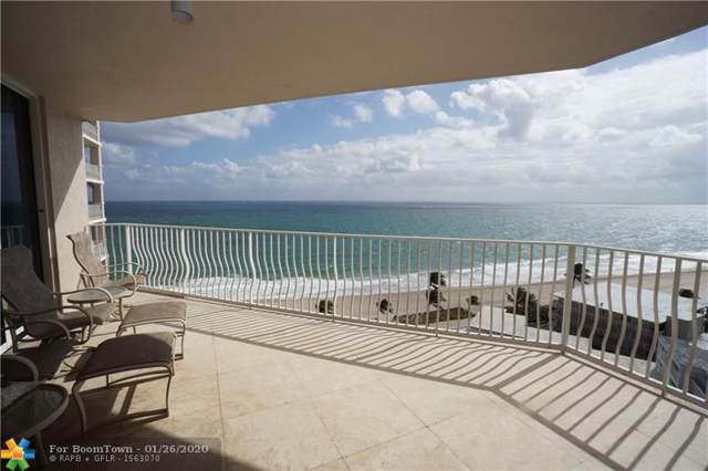 1460 S Ocean Blvd #1101, Lauderdale By The Sea, FL 33062 (MLS #F10212404) :: Berkshire Hathaway HomeServices EWM Realty