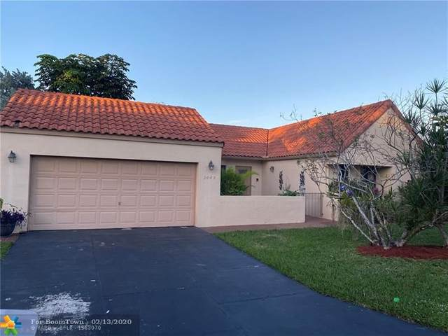 2045 Maplewood Dr, Coral Springs, FL 33071 (MLS #F10214084) :: Green Realty Properties