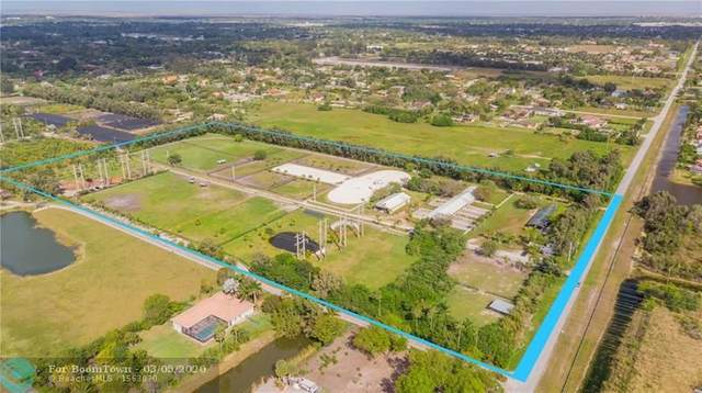6701 SW 166 AVE, Southwest Ranches, FL 33331 (MLS #F10214312) :: Green Realty Properties