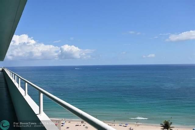 4050 N Ocean Dr #1705, Lauderdale By The Sea, FL 33308 (MLS #F10214791) :: Berkshire Hathaway HomeServices EWM Realty