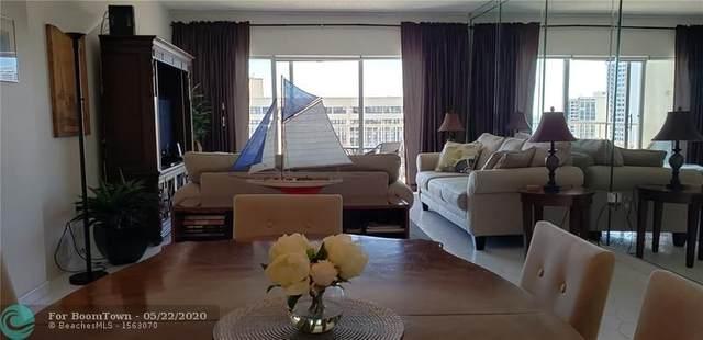 1985 S Ocean Dr 14G, Hallandale, FL 33009 (MLS #F10219324) :: Green Realty Properties