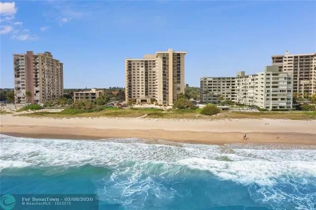 1900 S Ocean Blvd 14N, Lauderdale By The Sea, FL 33062 (MLS #F10220035) :: Green Realty Properties