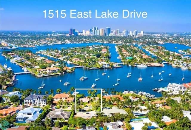 1515 E Lake Dr, Fort Lauderdale, FL 33316 (#F10226738) :: Posh Properties