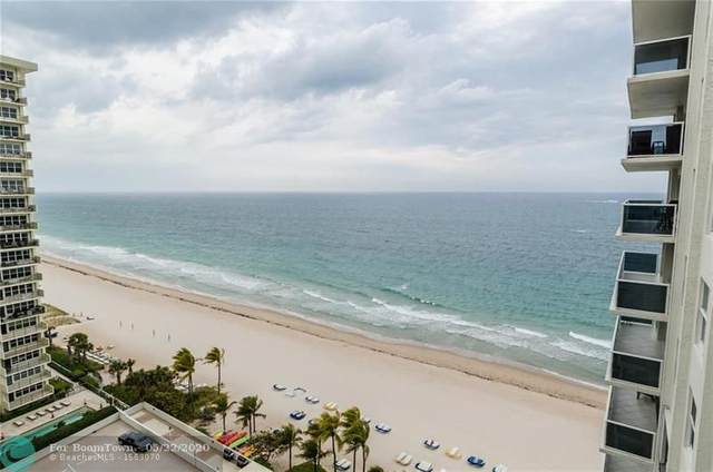 3500 Galt Ocean Dr #1216, Fort Lauderdale, FL 33308 (MLS #F10229730) :: Berkshire Hathaway HomeServices EWM Realty