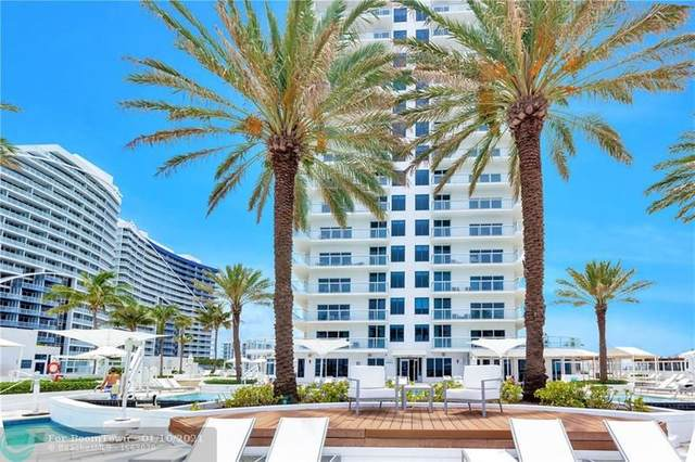 505 N Fort Lauderdale Beach Blvd #810, Fort Lauderdale, FL 33304 (#F10232221) :: The Rizzuto Woodman Team