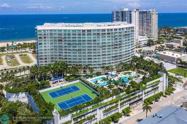 1 N Ocean Blvd #1711, Pompano Beach, FL 33062 (MLS #F10232944) :: Berkshire Hathaway HomeServices EWM Realty