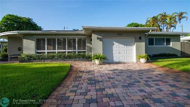 1898 NE 33rd St, Oakland Park, FL 33306 (MLS #F10237760) :: Berkshire Hathaway HomeServices EWM Realty