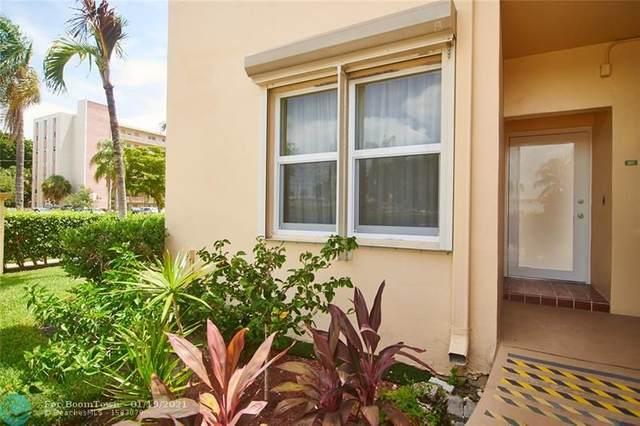 1250 Atlantic Shores Blvd #107, Hallandale, FL 33009 (MLS #F10238623) :: Green Realty Properties