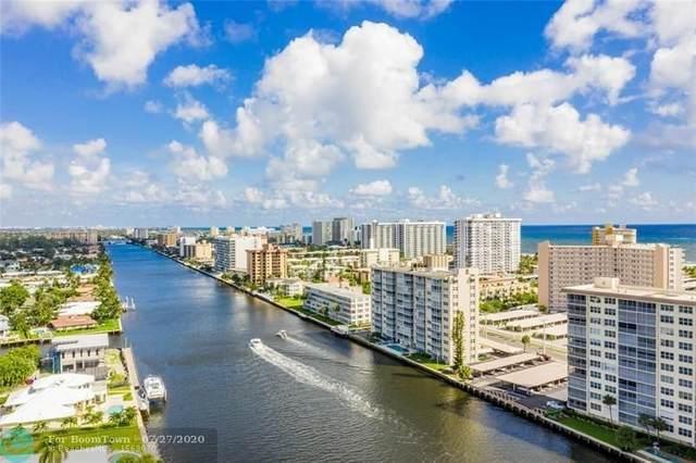 303 N Riverside Dr #204, Pompano Beach, FL 33062 (MLS #F10239884) :: Berkshire Hathaway HomeServices EWM Realty