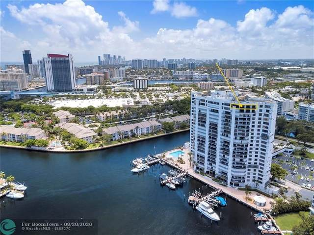 300 Three Islands Blvd Ph3a, Hallandale, FL 33009 (MLS #F10241867) :: Berkshire Hathaway HomeServices EWM Realty