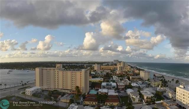 1201 S Ocean Drive 1702N, Hollywood, FL 33019 (MLS #F10249819) :: Berkshire Hathaway HomeServices EWM Realty
