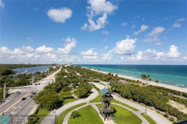 3501 N Ocean Dr 8H, Hollywood, FL 33019 (#F10249902) :: Michael Kaufman Real Estate
