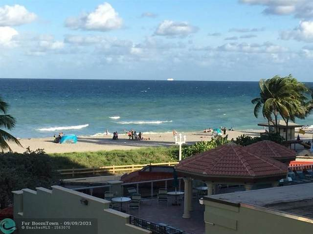 101 N Ocean Dr #411, Hollywood, FL 33019 (MLS #F10251141) :: GK Realty Group LLC