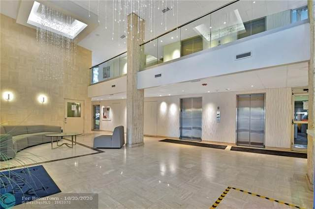 750 N Ocean Blvd #905, Pompano Beach, FL 33062 (MLS #F10251162) :: Berkshire Hathaway HomeServices EWM Realty