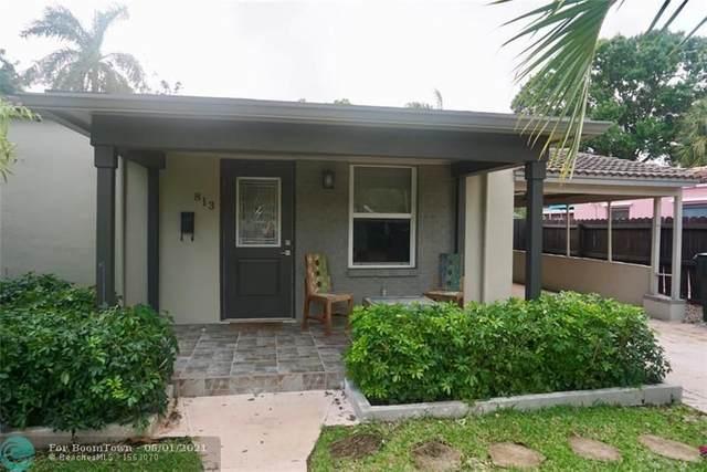813 SW 9th Ter, Fort Lauderdale, FL 33315 (#F10252932) :: Michael Kaufman Real Estate