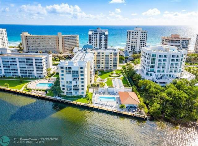 3114 S Ocean Blvd #207, Highland Beach, FL 33487 (MLS #F10253630) :: Dalton Wade Real Estate Group