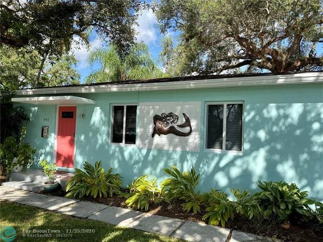 841 SW 17th St, Fort Lauderdale, FL 33315 (MLS #F10256482) :: Berkshire Hathaway HomeServices EWM Realty