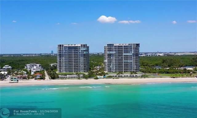 6051 N Ocean Dr #1602, Hollywood, FL 33019 (MLS #F10256604) :: GK Realty Group LLC