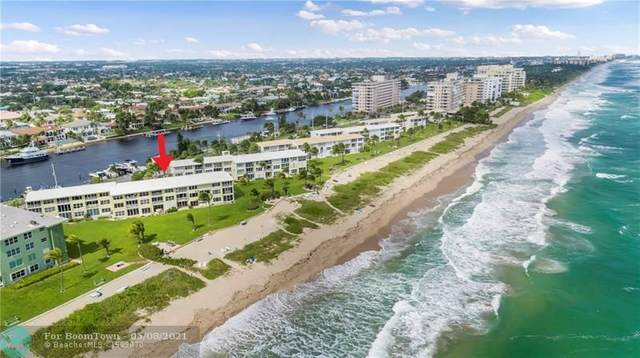 1039 Hillsboro Mile #9, Hillsboro Beach, FL 33062 (#F10256989) :: Posh Properties