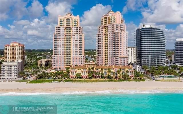 2100 N Ocean Blvd 14E, Fort Lauderdale, FL 33305 (MLS #F10257683) :: Castelli Real Estate Services