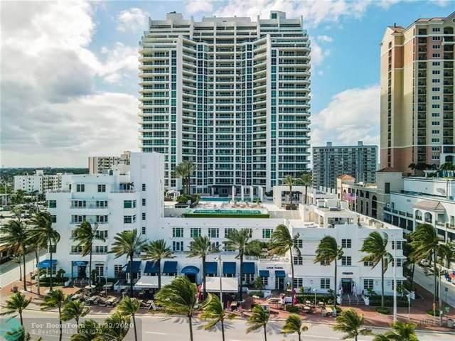 101 S Fort Lauderdale Beach Blvd #1705, Fort Lauderdale, FL 33316 (MLS #F10258996) :: Castelli Real Estate Services