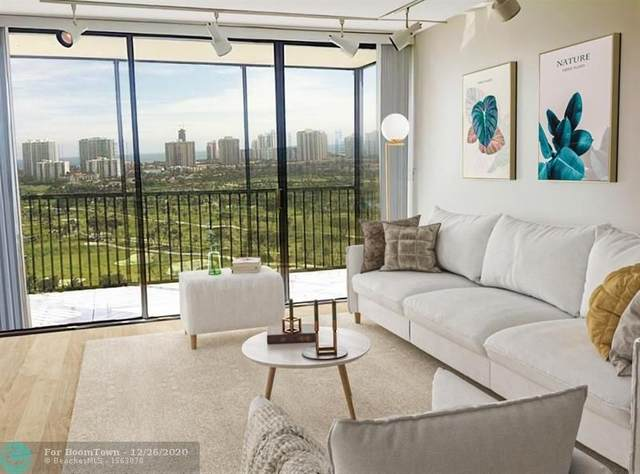 20335 W Country Club Dr #2308, Aventura, FL 33180 (MLS #F10261355) :: Green Realty Properties