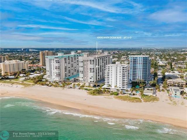 1000 S Ocean Blvd 14-O, Pompano Beach, FL 33062 (MLS #F10261827) :: Green Realty Properties