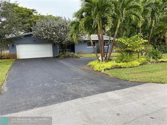771 NW 34th St, Oakland Park, FL 33309 (MLS #F10262764) :: THE BANNON GROUP at RE/MAX CONSULTANTS REALTY I