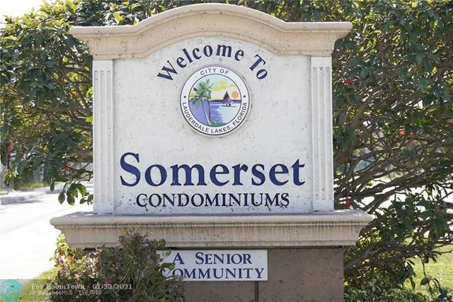 2811 Somerset Dr #217, Lauderdale Lakes, FL 33311 (MLS #F10266946) :: Berkshire Hathaway HomeServices EWM Realty