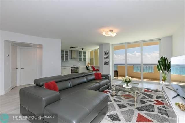 3180 S Ocean Dr #712, Hallandale Beach, FL 33009 (#F10277831) :: Baron Real Estate