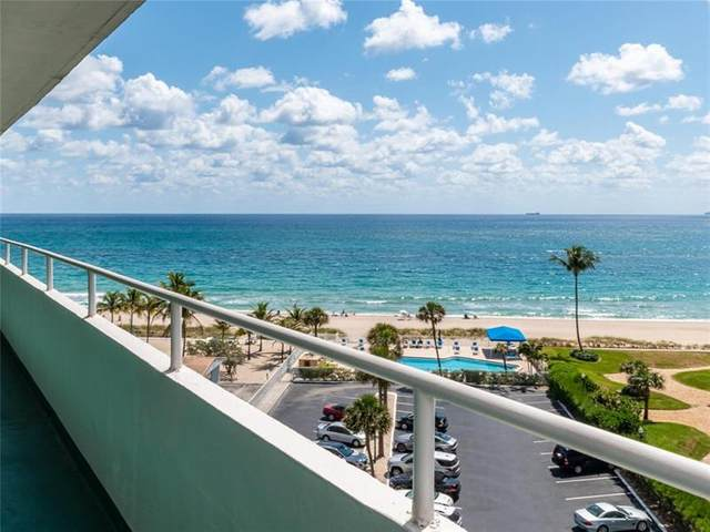 4050 N Ocean Drive #703, Lauderdale By The Sea, FL 33308 (MLS #F10278182) :: The Howland Group