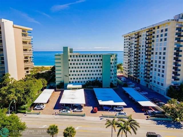 1850 S Ocean Blvd #103, Pompano Beach, FL 33062 (MLS #F10285076) :: Green Realty Properties