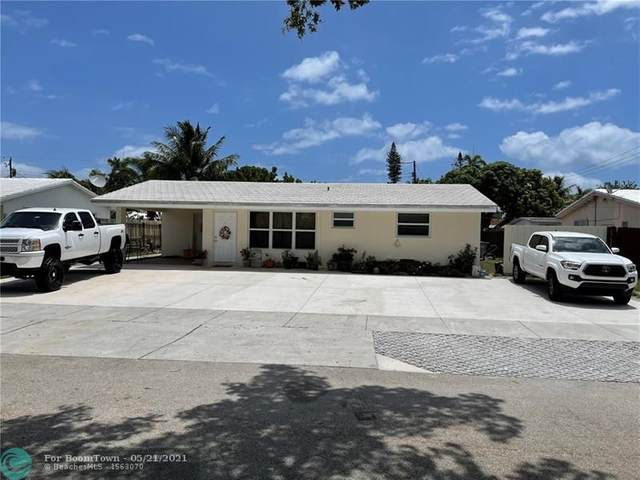 2410 NE 8th Ter, Pompano Beach, FL 33064 (#F10285355) :: Michael Kaufman Real Estate