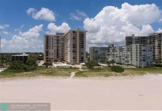 1900 S Ocean Blvd 16L, Pompano Beach, FL 33062 (#F10285857) :: Baron Real Estate