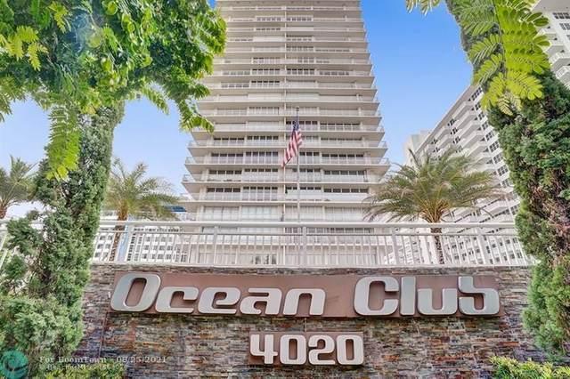 4020 Galt Ocean Dr #606, Fort Lauderdale, FL 33308 (MLS #F10289110) :: GK Realty Group LLC