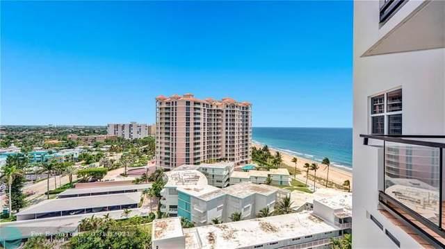 1500 S Ocean Blvd #1208, Pompano Beach, FL 33062 (MLS #F10292050) :: Berkshire Hathaway HomeServices EWM Realty