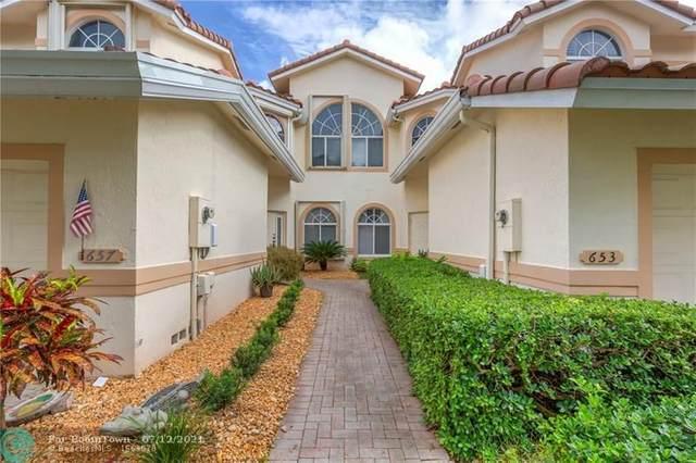 657 W Palm Aire Dr #657, Pompano Beach, FL 33069 (#F10292155) :: Dalton Wade