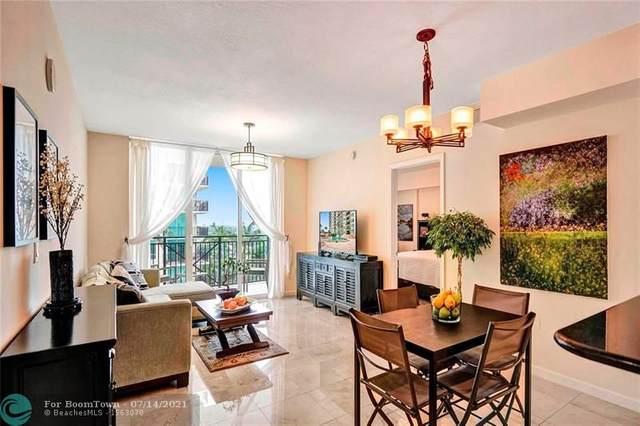 610 W Las Olas Blvd 1119N, Fort Lauderdale, FL 33312 (#F10292689) :: The Rizzuto Woodman Team